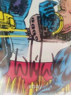 Uncanny X-Men #282 CGC 9.8 SS 1st Bishop signature series