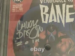 Vengeance of Bane 1st Appearance of Bane CGC 9.8 Signature Series Dixon & Nolan