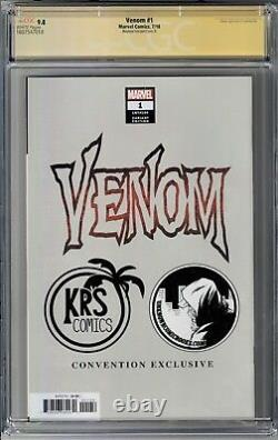 Venom #1 CGC 9.8 Signature Series signed Mike Mayhew with VENOM Sketch D Cover