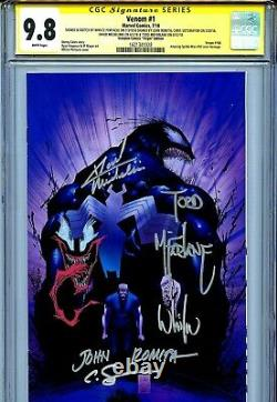 Venom Vol 4 1 CGC 9.8 SS X5 McFarlane Michelinie Romita Portacio sketch ASM 50