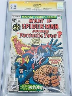 What If #1 CGC 9.2 SIGNATURE SERIES SIGNED BY STAN LEE AVENGERS