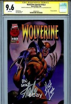 Wolverine Special 102.5 CGC 9.6 SS X3 Stan Lee Herb Trimpe Lein Wein Vallejo