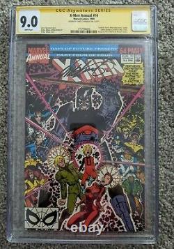 X-MEN ANNUAL #14 CGC 9.0 SS 1st Gambit Cameo Signature Series Chris Claremont