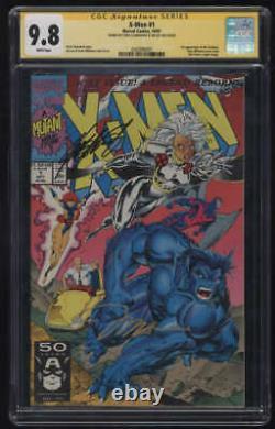 X-Men #1 CGC 9.8 W Pgs Signature Series SS Signed Chris Claremont Jim Lee 1991