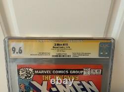X-Men 115 CGC Signature Series 9.6 Signed By Chris Claremont