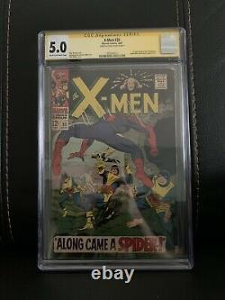 X-Men 35 CGC 5.0 Signed By Stan Lee Signature Series