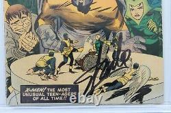 X-Men #4 CGC 3.0 (Marvel) Signature Series Signed Stan Lee