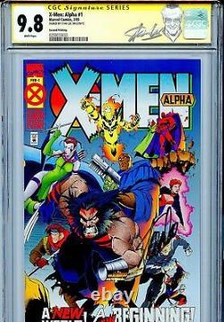X-Men Alpha 1 CGC 9.8 SS 2nd print Stan Lee Age of Apocalypse Gambit Wolverine