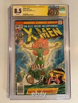 X-men 101 cgc 8.5 Signature Series 1st app of Phoenix! New case