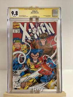 X-men #4 Cgc 9.8 1st Omega Red Signature Series Ss Signed By Jim Lee