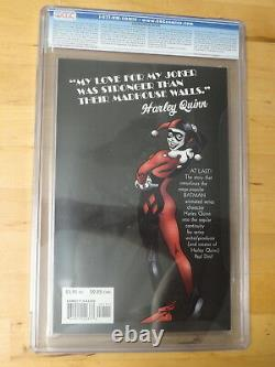 1999 DC Batman #nn 1 Joker 1er App Harley Quinn Origin Key Cgc 9.8 Classic Cover