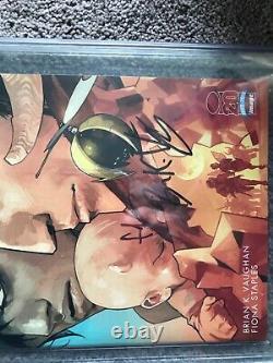 2012 Image Comics Saga 1 Retailer Incentive Cgc 9,8 Série De Signatures Rrp