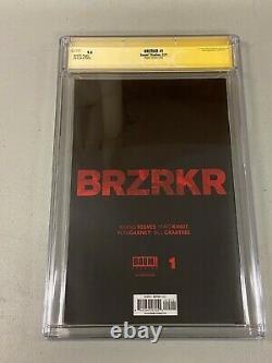 9.8 Cgc Signature Series Brzrkr 1 11000 Meyers Variante Keanu Reeves Boom