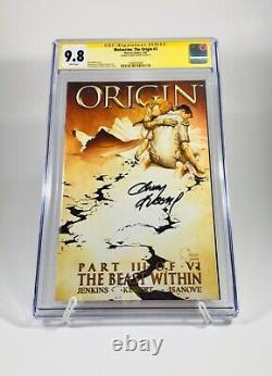 9.8 Cgc Signature Series Wolverine The Origin #1-6 Signé Par Andy Kubert