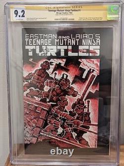 Adolescent Mutant Tortues Ninja 1 Première Imprimer Série Signature Cgc 9.2