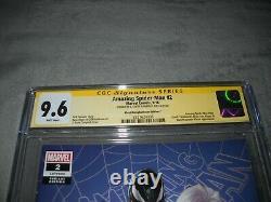 Amazing Spider Man 2 Cgc 9,6 White Signature Series J Scott Campbell C Edition