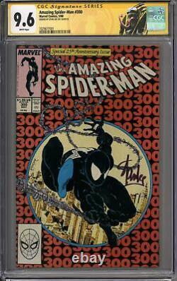 Amazing Spider-man #300 Cgc 9.6 Stan Lee Signature Series (w) 1er Venom