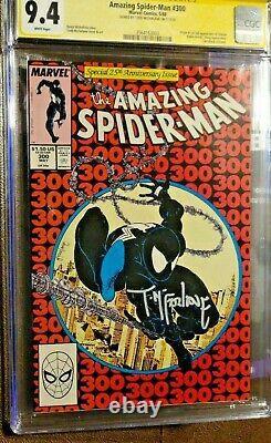 Amazing Spider-man #300 Cgc Classé 9.4 Signature Série Todd Mcfarlane-venom