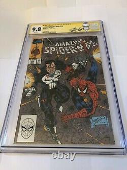Amazing Spider-man 330 Signé Stan Lee Cgc 9.8 Signature Series Rare
