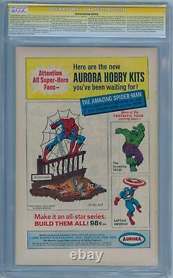Amazing Spider-man #46 Cgc 7.5 Signature Series Signé Stan Lee Romita Marvel