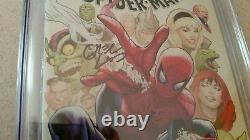 Amazing Spider-man #800 Cgc Ss Signature Series 9.8 Variante Greg Land