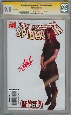 Amis Du Quartier Spider-man #24 Variante Cgc 9.8 Série De Signatures Stan Lee