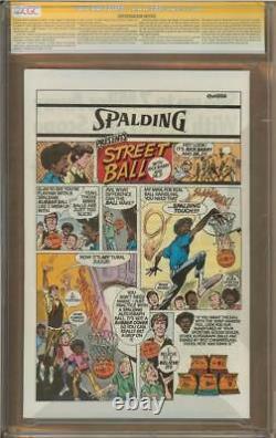 Avengers #166 Cgc 9.8 Série Signature Signée George Perez Comte Nefaria
