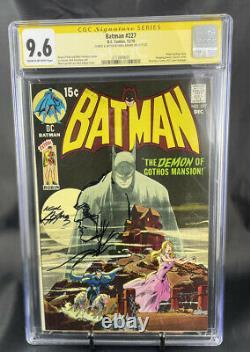 Batman #227 Cgc Signature Unique Première Série De Signature Avec Art 9.6
