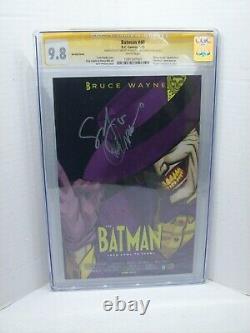 Batman #40 Cgc Signature Series 9.8 Scott Snyder & Greg Capullo