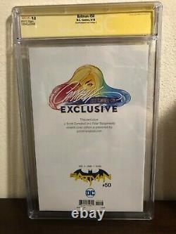 Batman #50 Série De Signatures De La Ccg 9.8 Signé Par J. Scott Campbell Batgirl