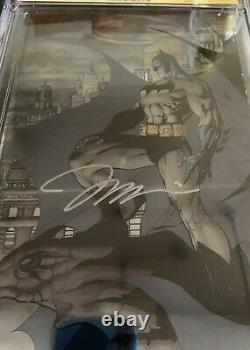 Batman #608 Cgc 9.8 Signature Series Signed By Jim Lee Foil Variante