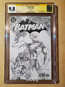 Batman #612 Cgc 9.8 Signature Series Jim Lee Sketch Variante