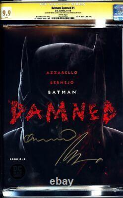 Batman Damned #1 (étiquette Noire DC 2018) Cgc 9.9 Série De Signature Mint