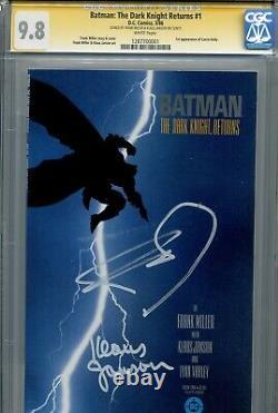 Batman The Dark Knight Returns 1 Cgc 9.8 Ss X2 1ère Impression Miller Janson Superman