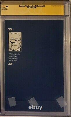 Batman The Dark Knight Returns 3 Cgc 9.8 Ss 1ère Impression Miller Janson Superman Wp