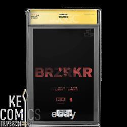 Brzrkr #1 11000 Cgc Ss 9.8, 1er Tirage, Keanu Reeves Signature