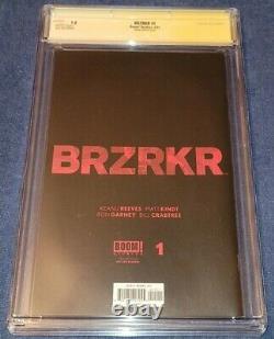 Brzrkr 1 Jonboy 11000 Variante Signée Keanu Reeves Cgc Signature Series 9.8