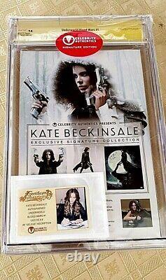 Cgc 9.8 Série De Signatures Guerres Du Sang Dans Le Monde #1 Kate Beckinsale Auto Selene