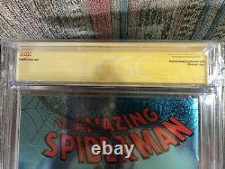 Cgc 9.8 Spider-man #1 Chrome Cover Signature Series White Pages Marvel Comics
