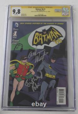 Cgc Batman'66 N° 1, 2013, Signature Series 9.8, Signé Par Adam West, Burt Ward