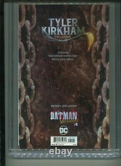 Cgc Signature Series DC Batman Who Rugs #1 Signé Par Kirkham 9,8 Livraison Gratuite