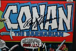 Conan The Barbarian #23 Roy Thomas 1er Red Sonja Cgc Signature Series 7.5 1973