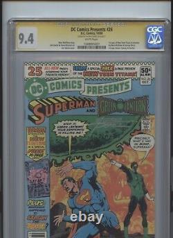 DC Comics Présente La Série De Signatures No 26 Cgc 9.4 George Perez