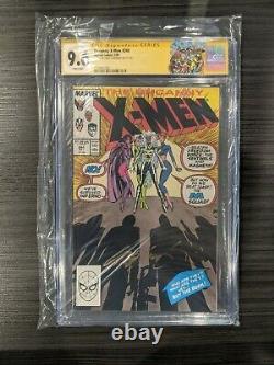 Étrange X-men 244 Cgc Signature Series 9.6 1er Jubilé Signé Par Chris Claremont