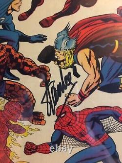 Fantastic Four #73 Cgc 7.5 Signature Series Signé Par Stan Lee