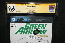 Flèche Verte #28 Esquisse De Neal Adams Série De Signatures De La Ccg Grade 9.6 2014