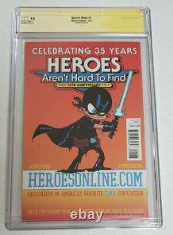 Guerres Secrètes No 1 Heroescon Cgc Signature Series 9.8 (miles Morales Variante)