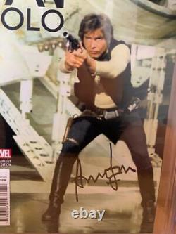 Han Solo #2 Cgc 9.8 Signé Par Harrison Ford Star Wars Signature Series Comic