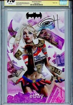 Harley Quinn 25e Anniversaire Spécial 1 Cgc 9.8 Ss Unknown Comics Horn Fait Remarquer