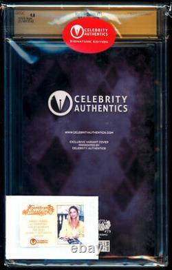Harley Quinn #75 Couverture De La Variante De Photo Ss Cgc 9.8 Série De Signature Margot Robbie